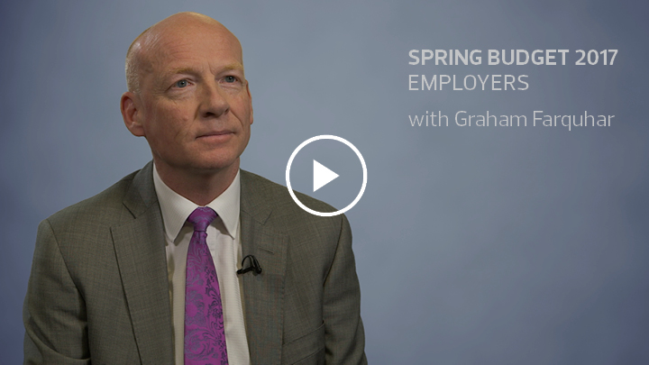 Spring budget 2017 employers