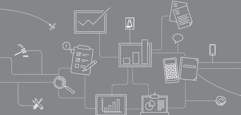 How systems and processes can transform business data into valuable and strategic information