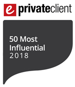 50 most influential private client