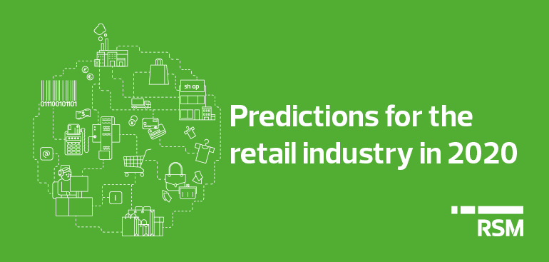 Predictions for the retail industry in 2020