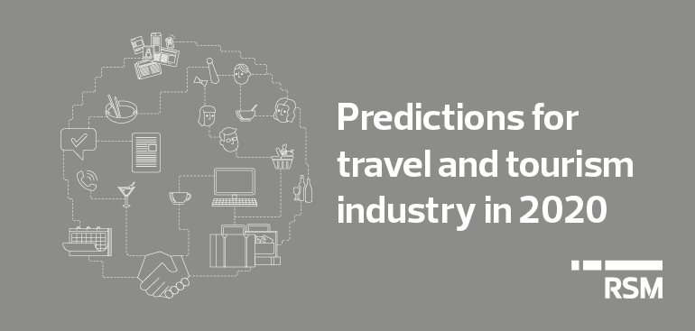 Predictions for the travel and tourism industry in 2020