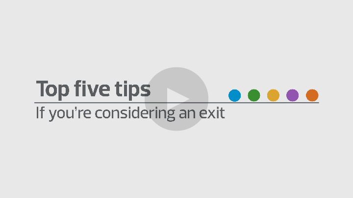 Top five tips