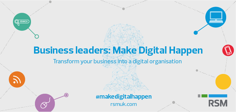 Make digital happen business leaders