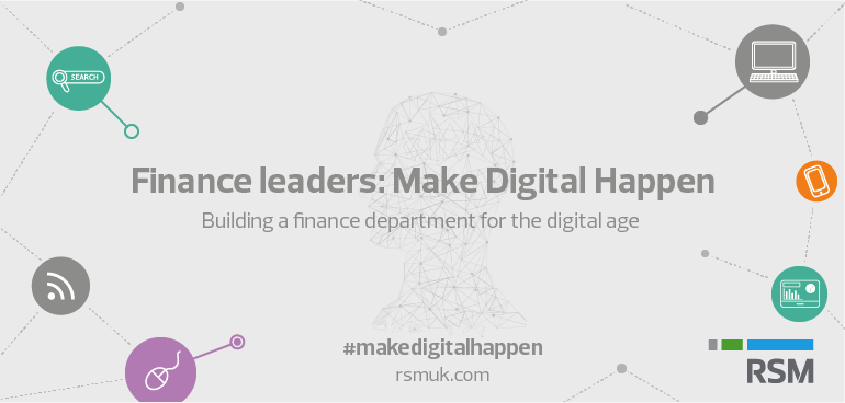 Finance leader make digital happen