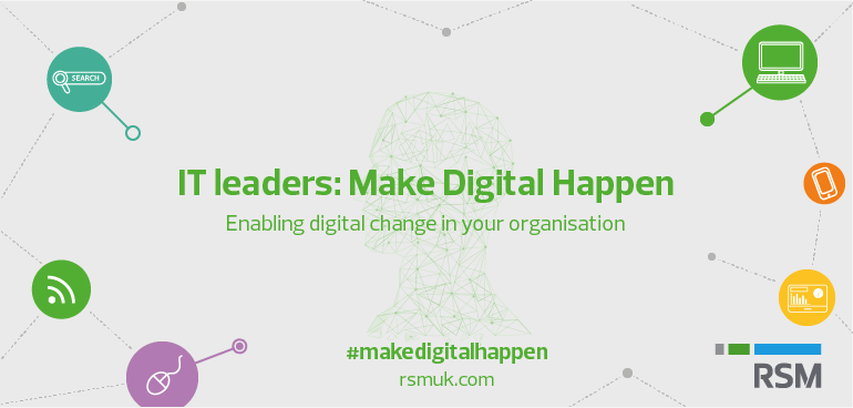 IT leader make digital happen