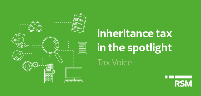 Inheritance tax in the spotlight