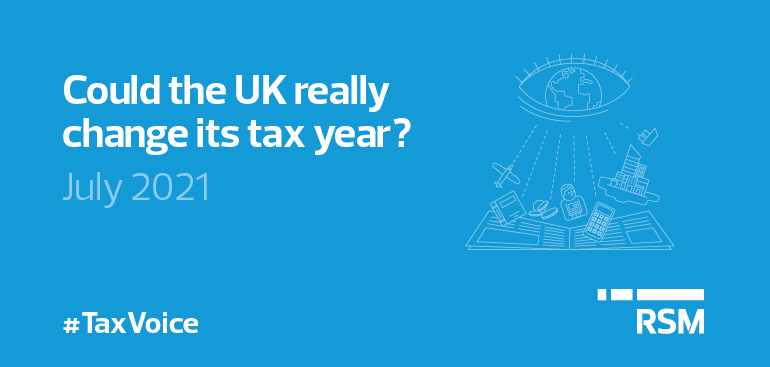 Could the UK really change its tax year?
