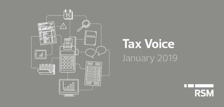 Tax voice January 2019