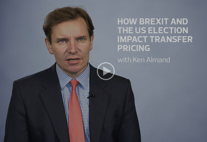 How Brexit and the US election impact transfer pricing image