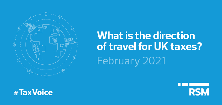 Direction of travel for UK taxes