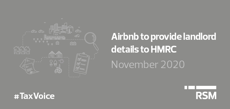 Airbnb to provide landlord details to HMRC