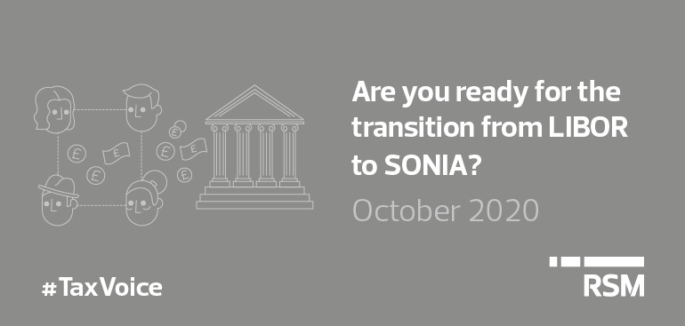 Transition from LIBOR to SONIA