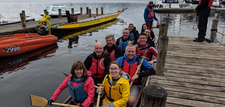 RSM goes Dragon Boat racing for charity