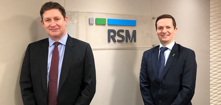 Peter Williams and Mark Taylor RSM