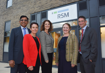 Swindon office opening event