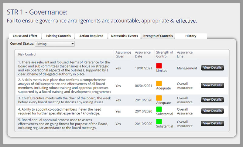 4risk assurance mapping facilities