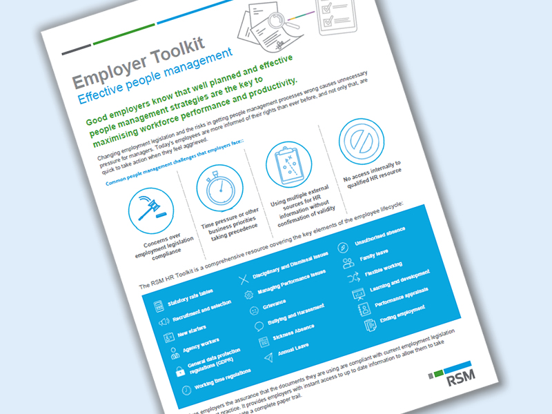 Employer toolkit