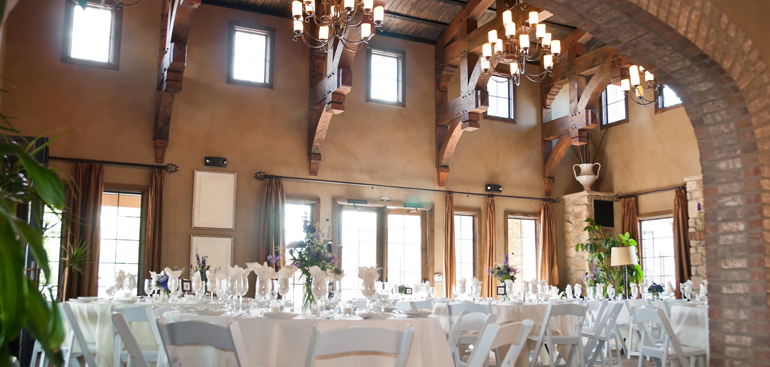 Bells are ringing in the wedding venue