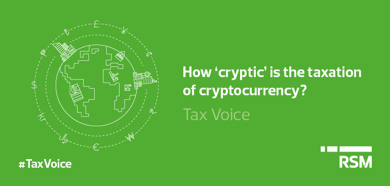 How cryptic is the taxation of cryptocurrency
