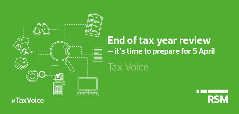 End of year tax review