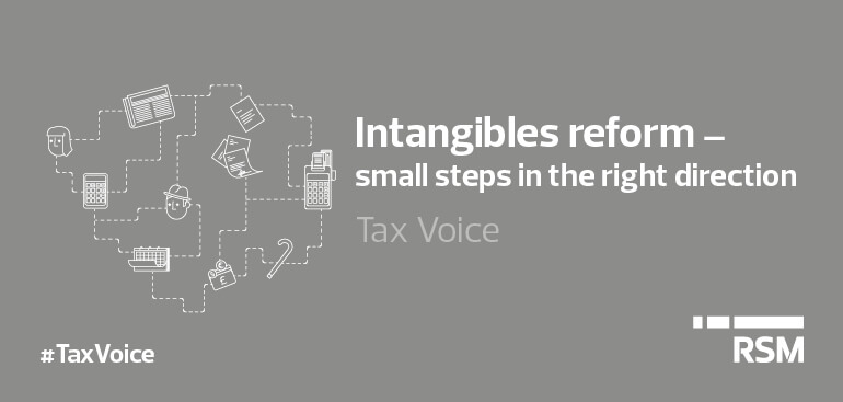 Intangibles reform