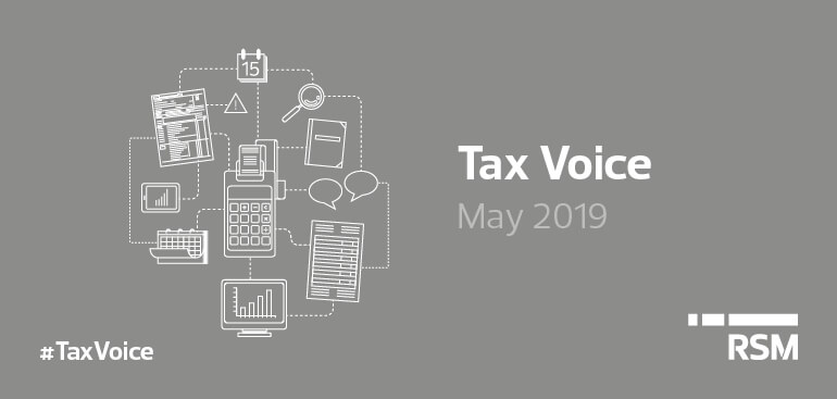 Tax voice May 2019