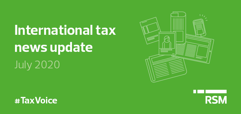Tax Voice July 20202 - International tax news update