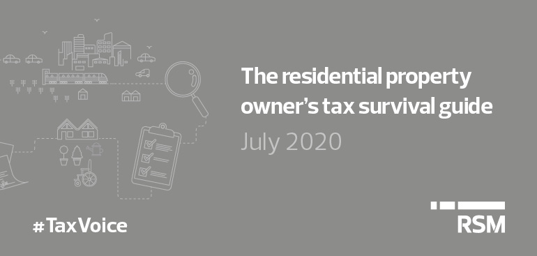 Tax Voice July 20206 - The residential property owner's tax survival guide