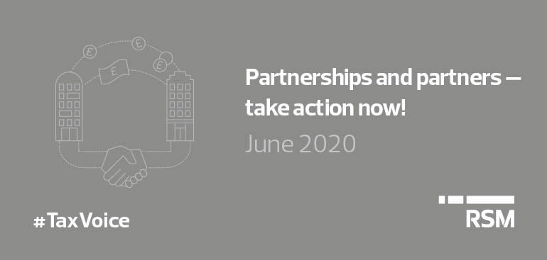 Partnerships and partners